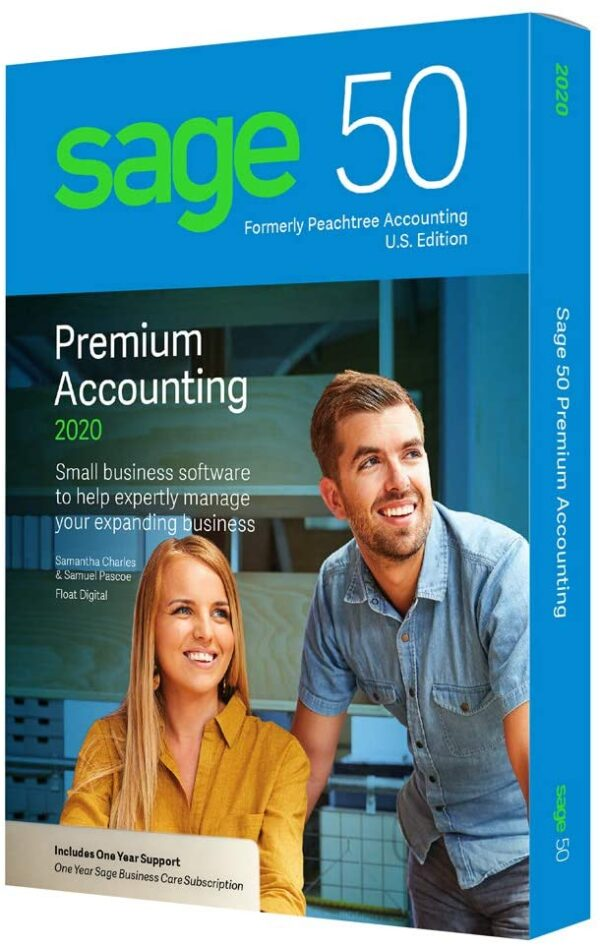 Sage 50 Premier 2020 (3-Users)