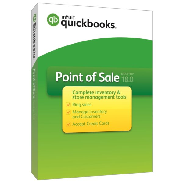 QuickBooks Point of Sale v18.0 (Multi Store) - 3 Users