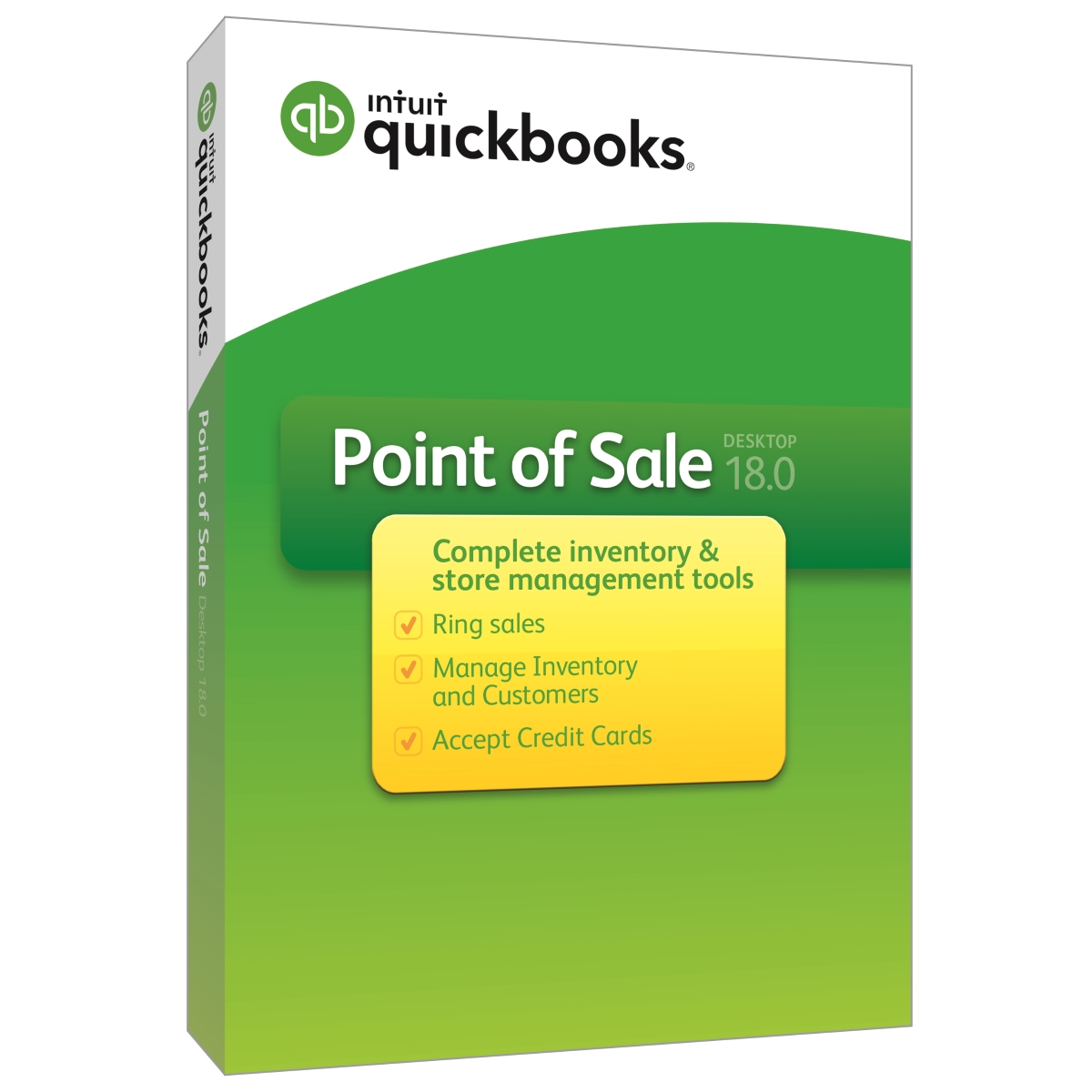 QuickBooks Point of Sale v18.0 (Multi Store) - 1 User