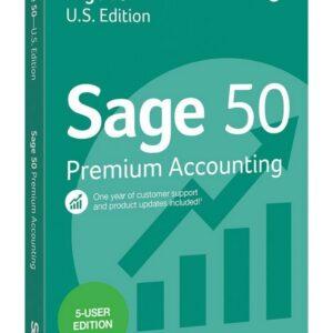 Sage 50 Premium (2019) - 5 Users