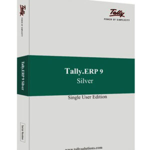 Tally ERP9 Silver (Single User) Edition