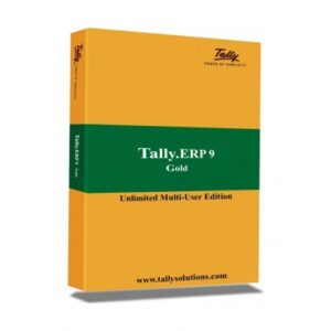 Tally ERP9 Gold (Unlimited User) Edition