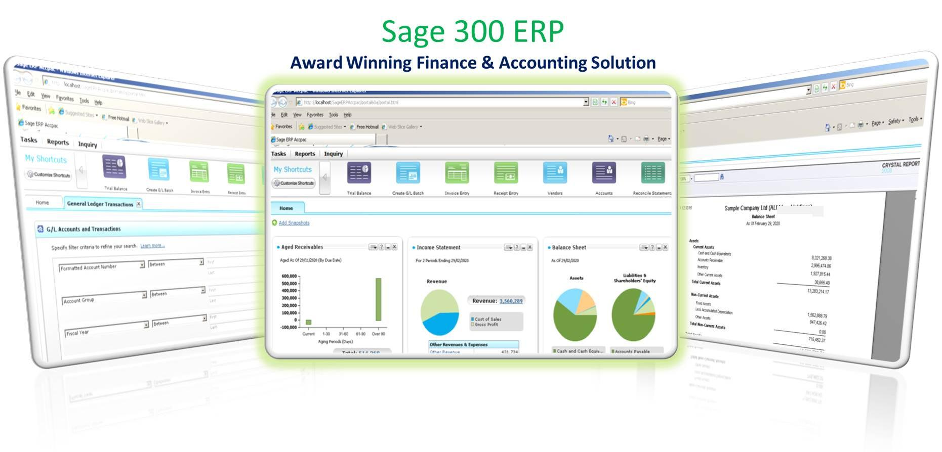 Sage 300 ERP Online Review & Price List | AccountingSoftware