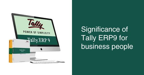 Tally ERP 9 Software for SMEs in Nigeria; Features, Partner & Cost